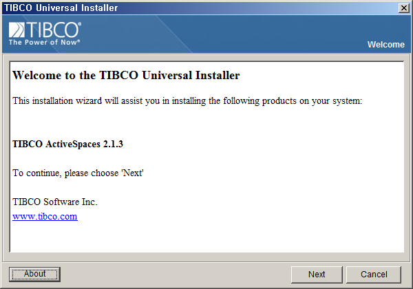 tibco activespace 01